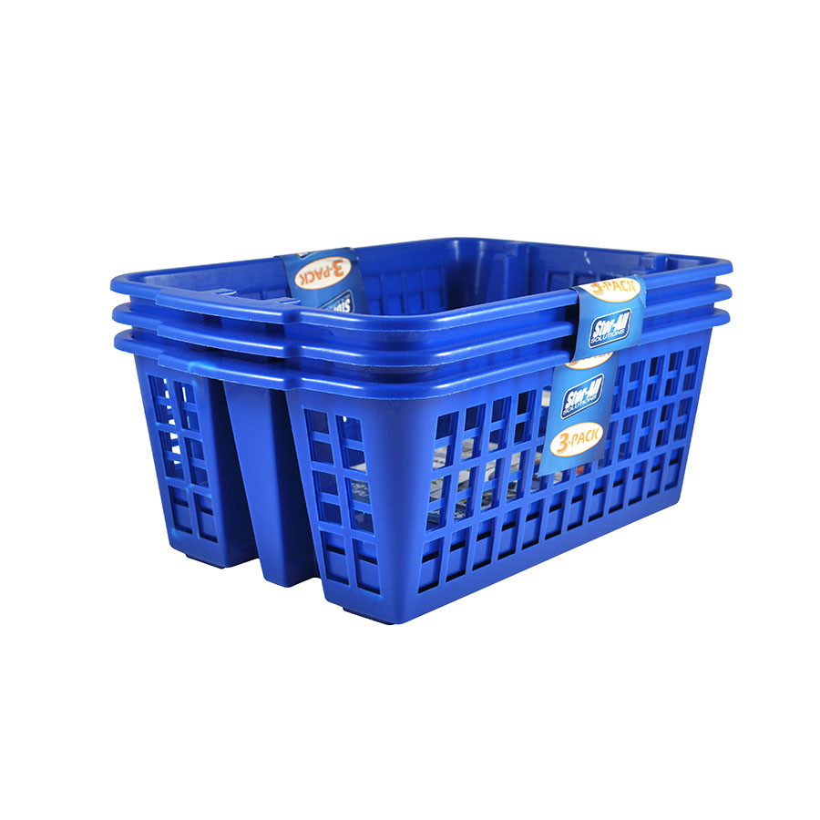 Medium StackableStorage Basket (3 Pack)