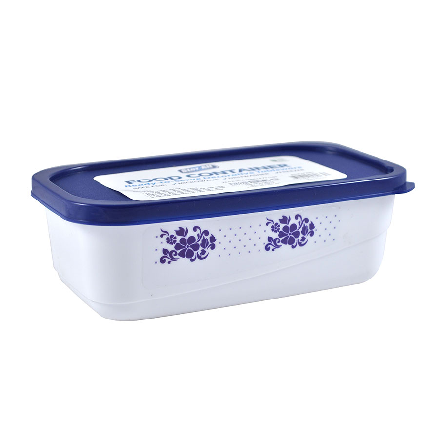 8.75 Cup Rectangle Classic Design Container