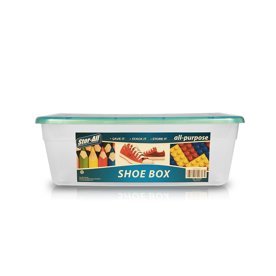 Plastic Shoe Box