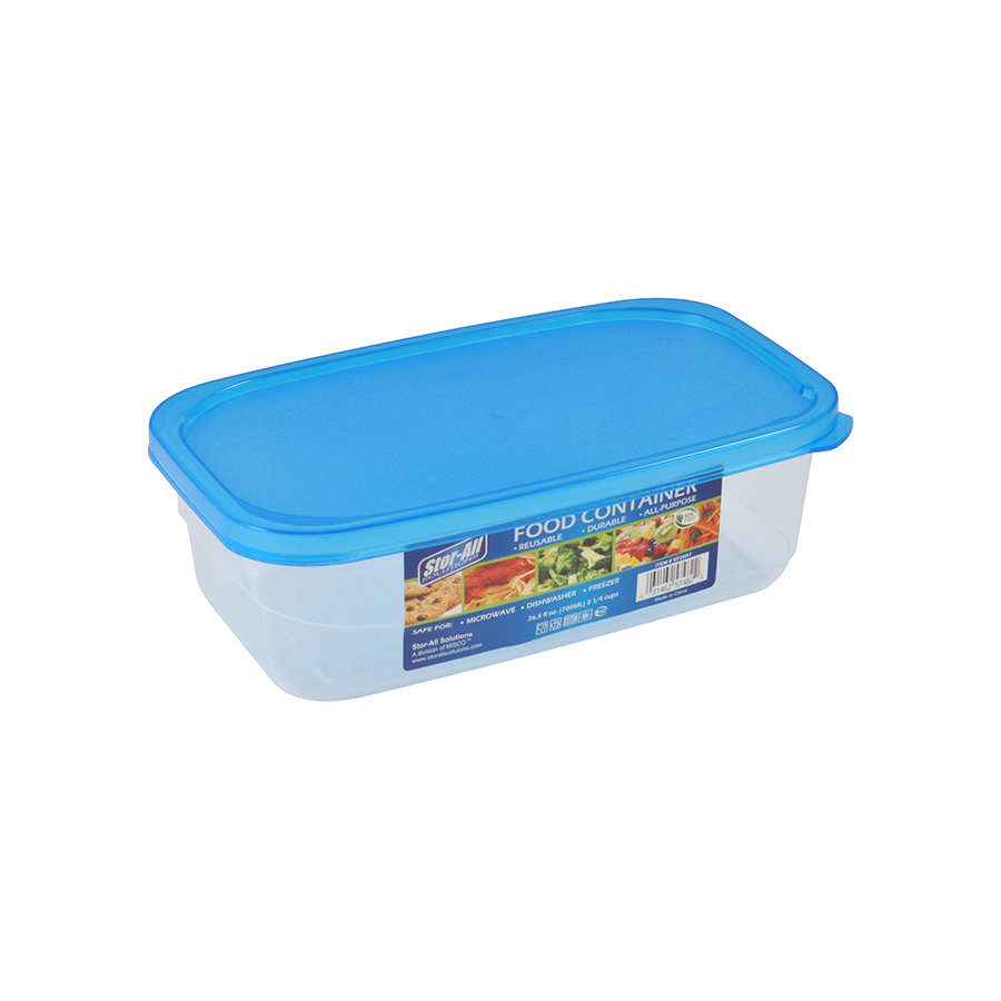 3.3 Cup Rectangle Food Storage