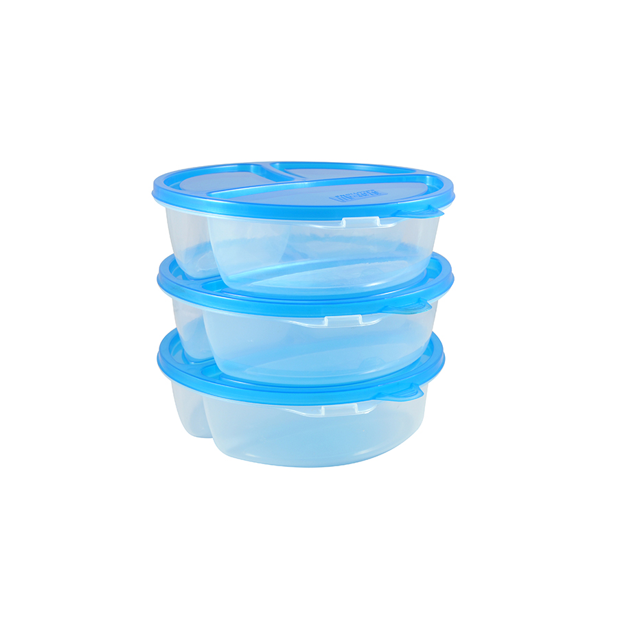 3 Section Food Divider (3 Pack)