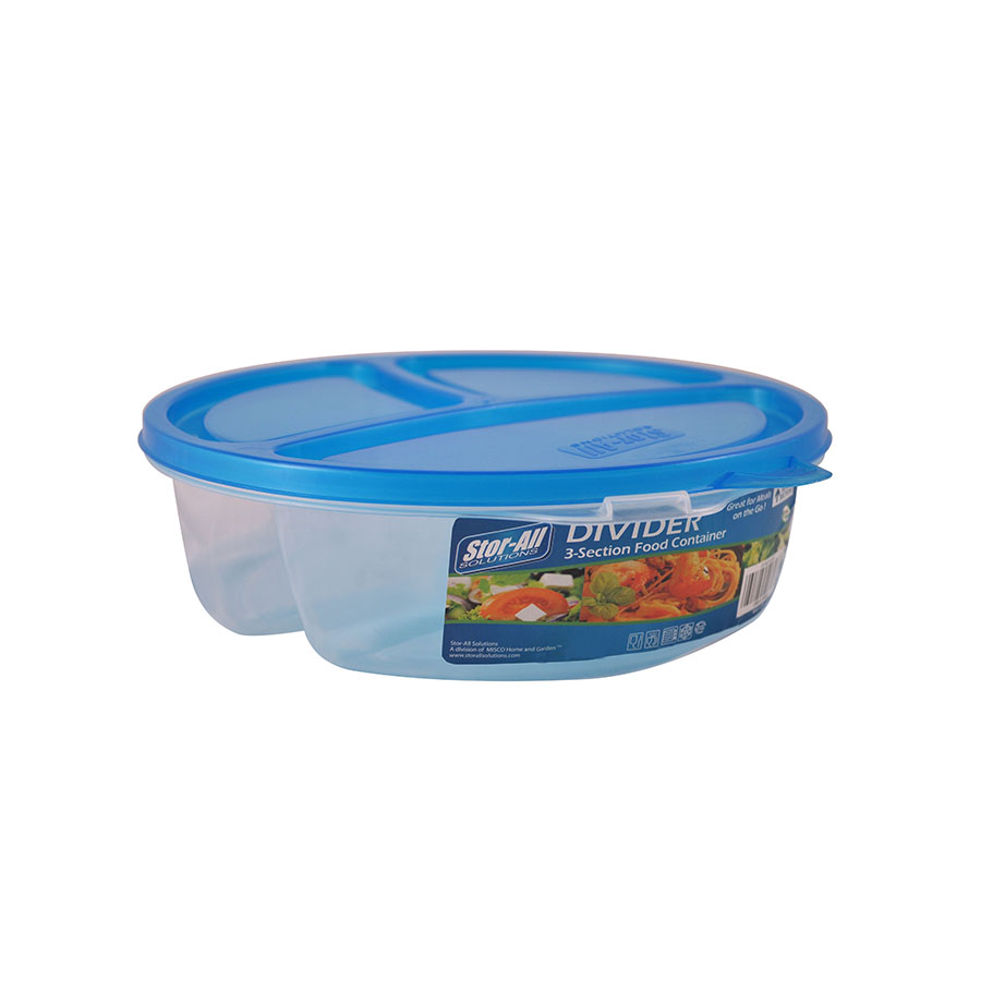 3 Section Food Divider