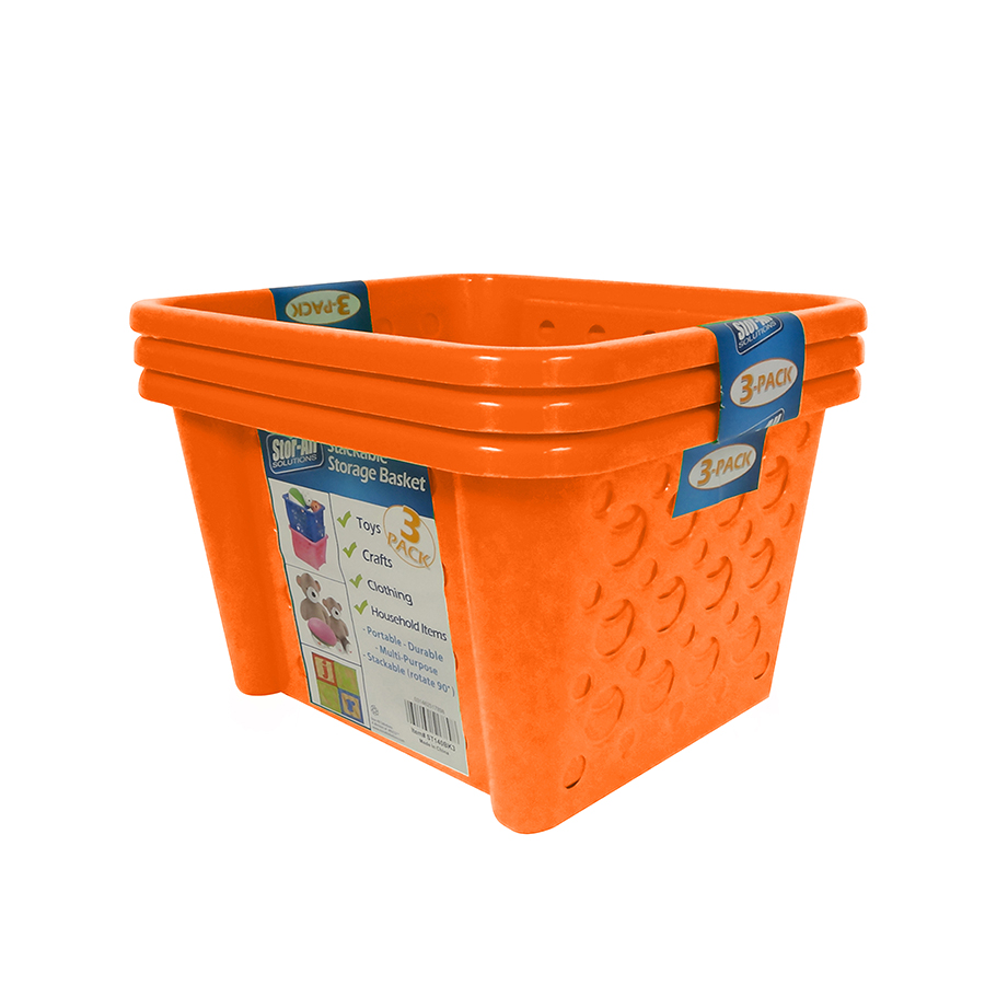 Stackable Basket (3 Pack)
