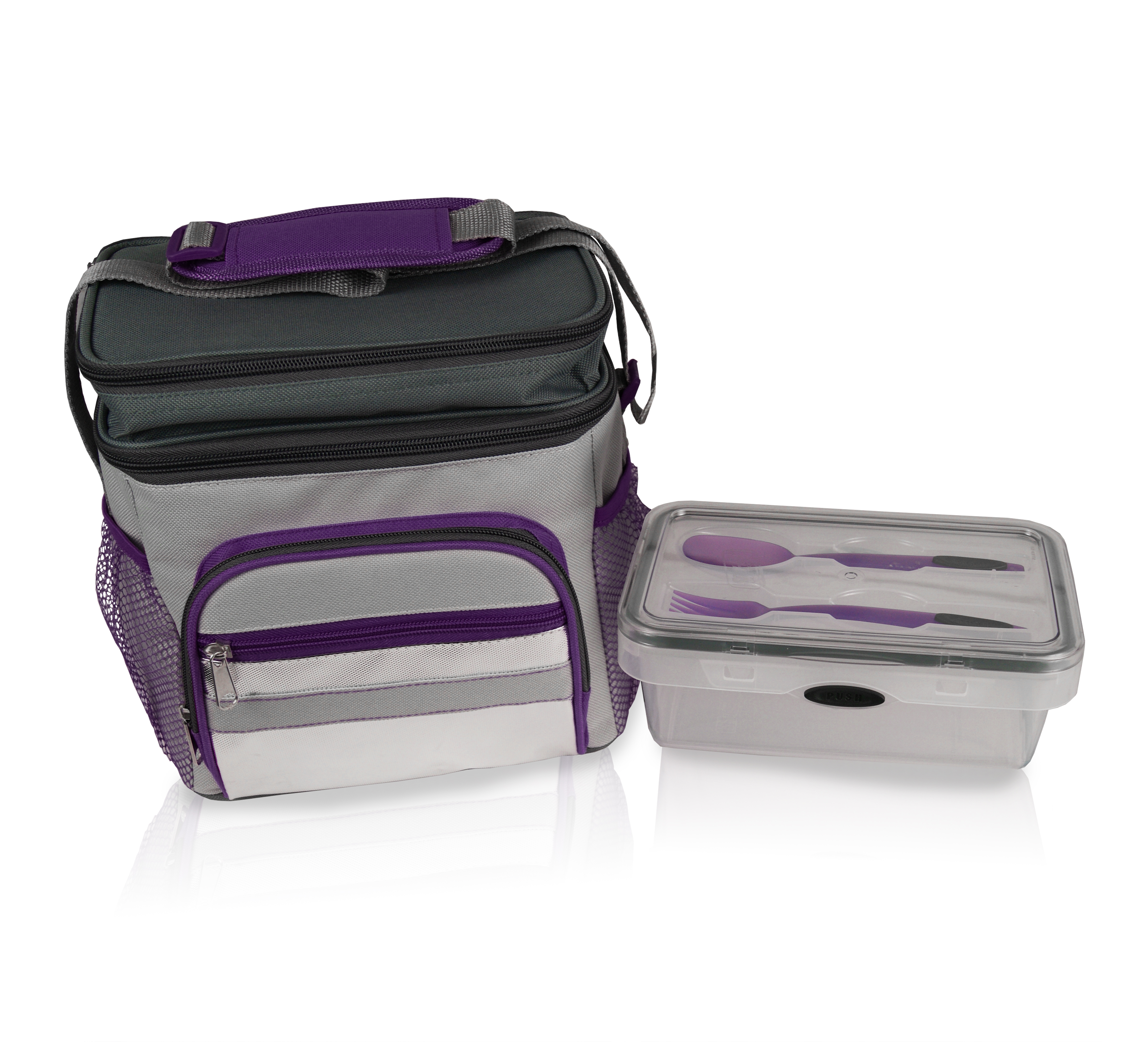 5 Piece Lunch Cooler Press N' Click Set