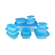 24 Piece Rectangle Storage Set